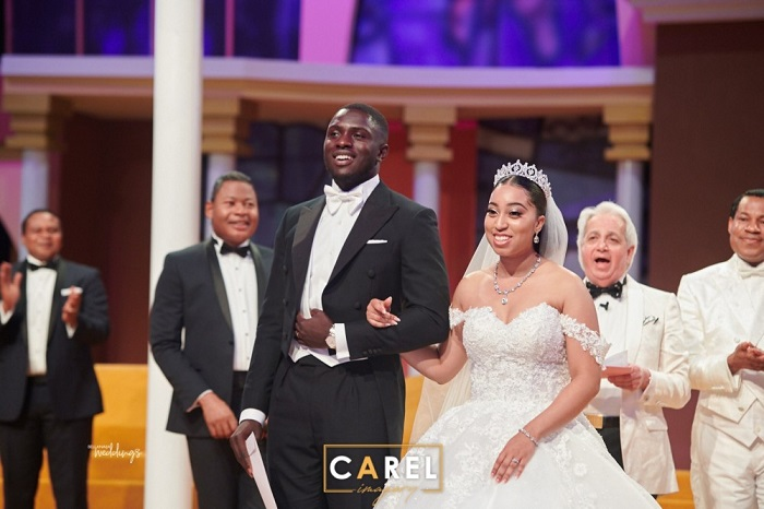Watch Touching Video Highlights from Royal Wedding of Sharon & Phillip Frimpong