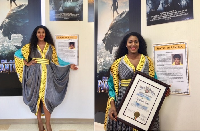 Stephanie Linus Gets Special Recognition for DRY at the Black History Month ahead of PAFF Screening