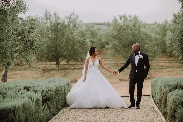 Nosipho and Sakhile's Stunningly Sophisticated Cape Town Wedding