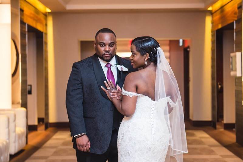 Happily Ever After: Nana and Cleon's Multi-cultural Intimate Ballroom Wedding in DC