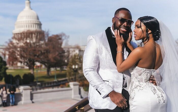 Tida and Ak's Sierra Leonean's Mosque Wedding in Maryland