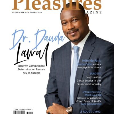 Integrity, Commitment, Remain Key To Success, Says Dr. Dauda Lawal As He Covers PLEASURES MAGAZINE Sept/Oct 2020 Issue