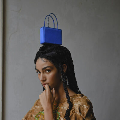Amina Muaddi debuts jewelry and bags with new collection